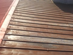 Dach oczyszczony