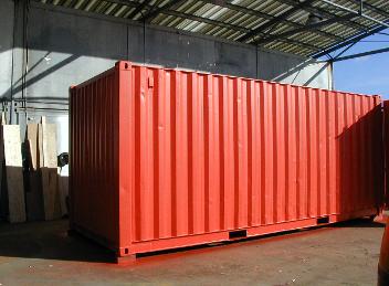 Farba do kontenerów, silosów