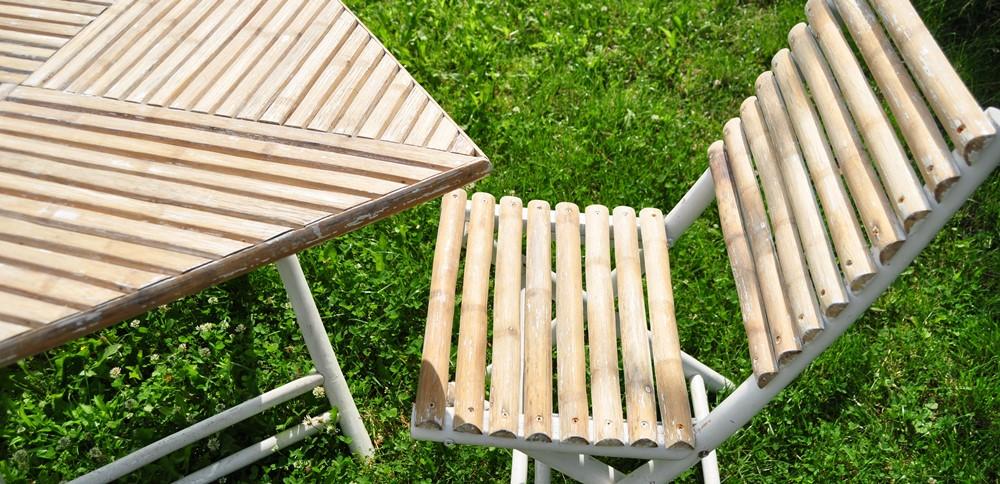 Olej na drewno, meble ogrodowe