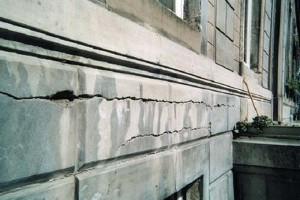 Naprawa betonu pękniętego