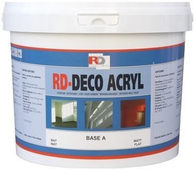 Farba zmywalna do ścian w domu - Deco Acryl Mat