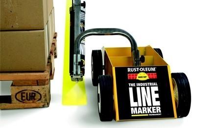 Spraye do oznaczania linii w magazynach