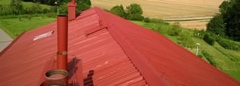 Farba do malowania dachów metalowych