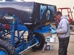 Farba do maszyn rolniczych Kubota niebieski