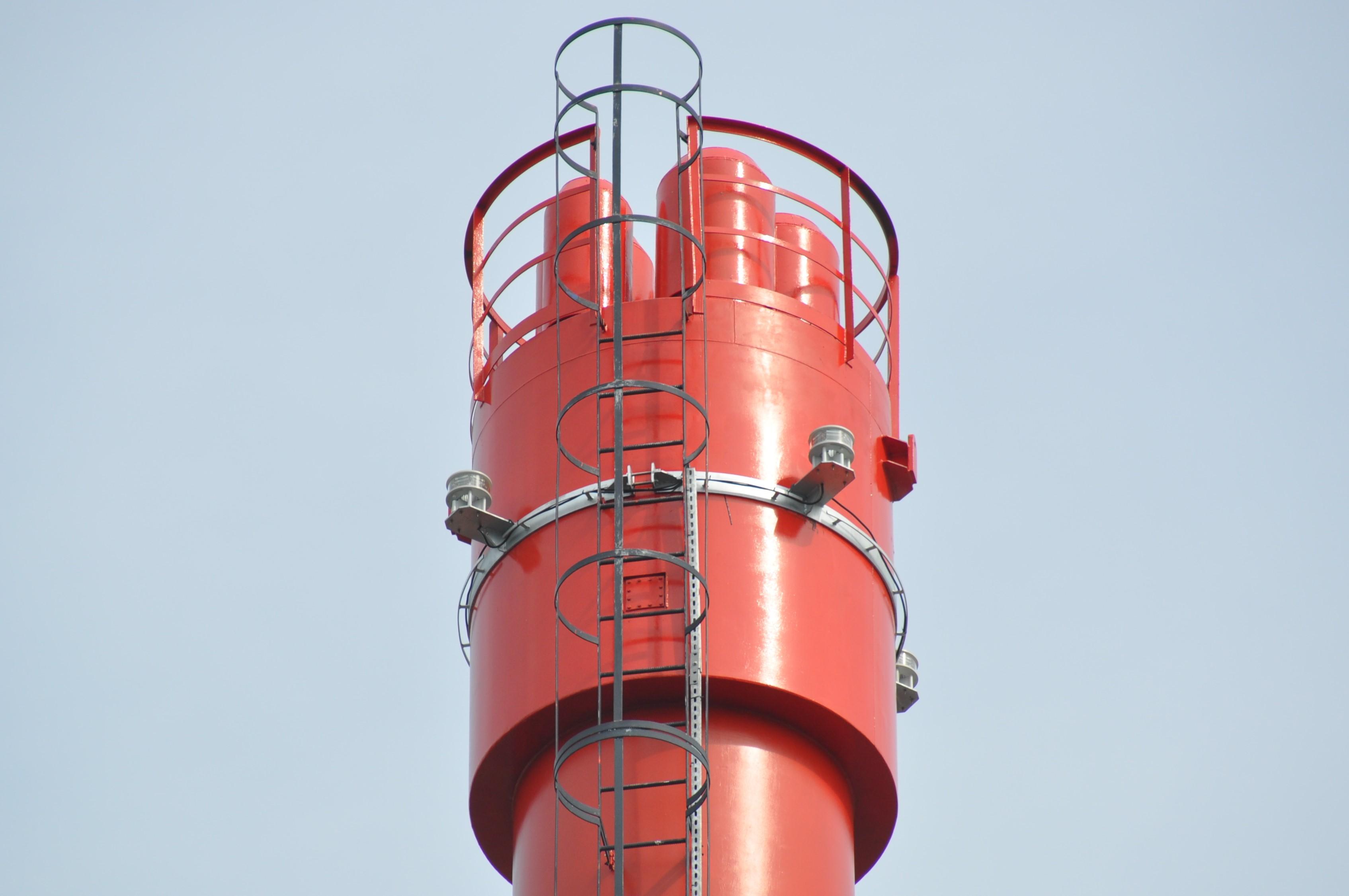Nawierzchnia termoodporna na kominie