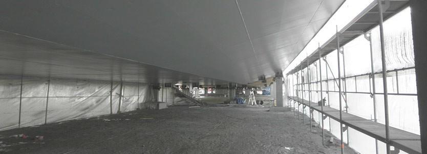 Malowanie sufitów metalowych Metal Unicoat
