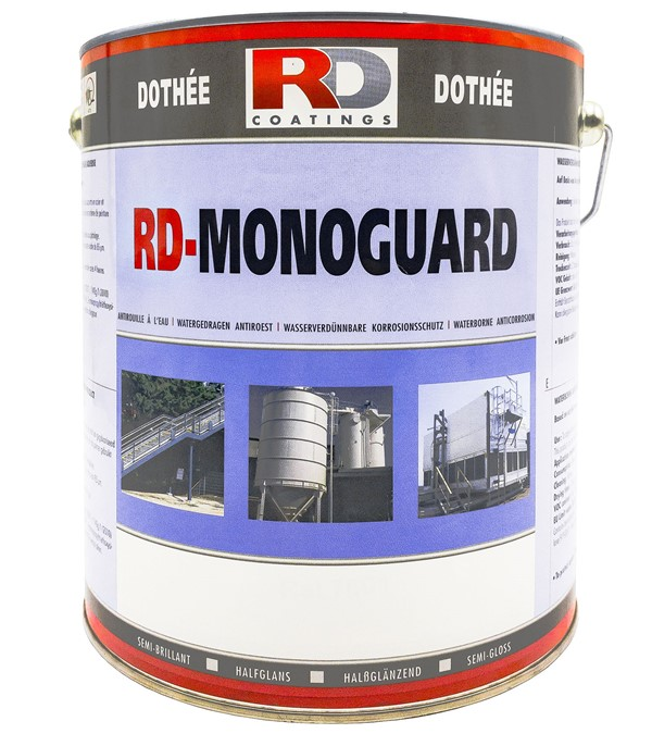Farba antykorozyjna do metalu 2w1 - Monoguard
