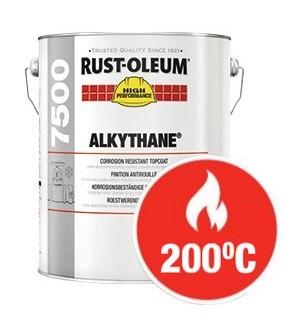 Farba nawierzchniowa termoodporna Alkythane-200°C