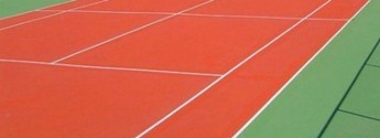 Farba do malowania gruntów sportowych Tenniscryl