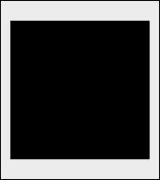 Kwadrat szablon do malowania znak
