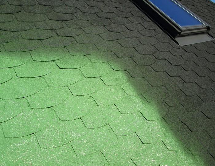 Farba do dachu z gontów i płyt bitumicznych