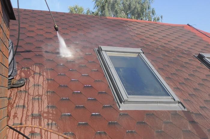 Farba do dachu/gontu bitumicznego