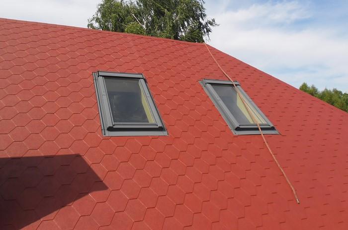 uszczelnianie dachu ze spadkiem