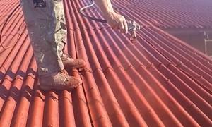 Malowanie płyt dachowych hydrodynamiką