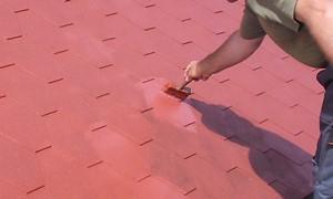 Odnawianie płyt dachowych przy użyciu pędzla