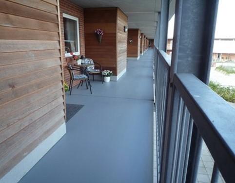Nawierzchnia poliuretanowa do tarasu i balkonu