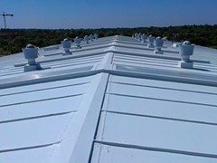 Uszczelnianie metalowych dachów