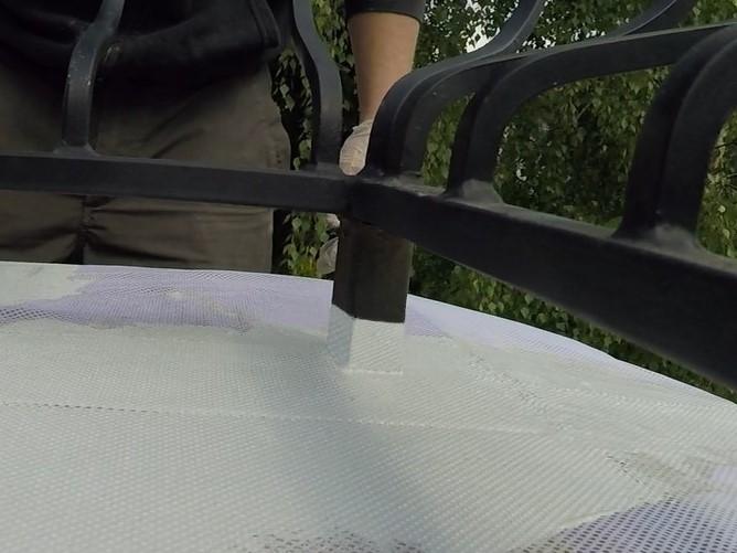 Uszczelnianie tarasu przy łączeniach z balustradą