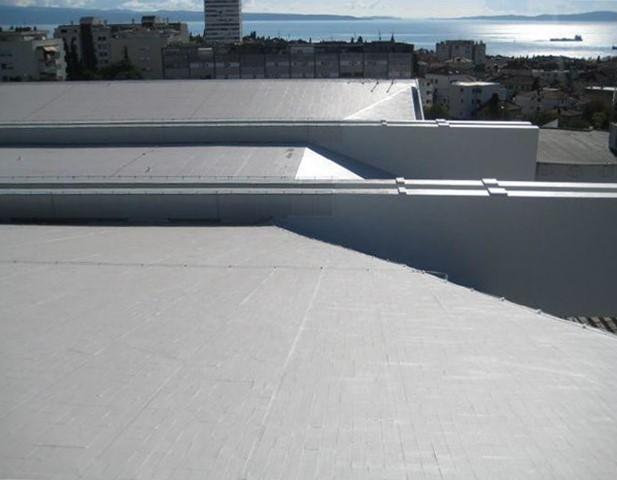 Renowacja dachów z EPDM, twardego PVC