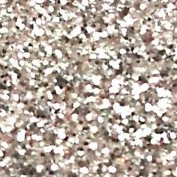 Brokat sypki srebrny