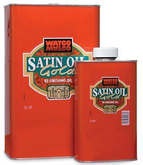 środek do renowacji drewna Satin Oil Gold