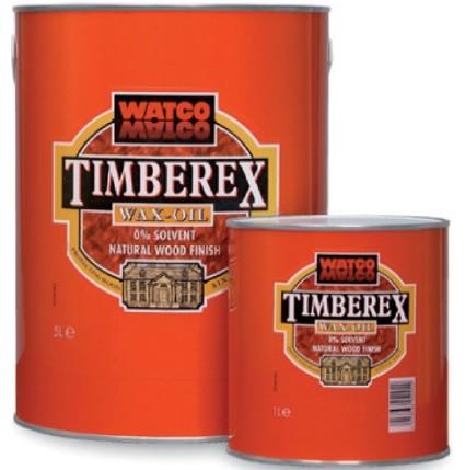 Olejowosk do drewna, parkietu Timberex Wax Oil