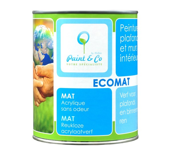 Ekologiczna farba do sufitu - Ecomat