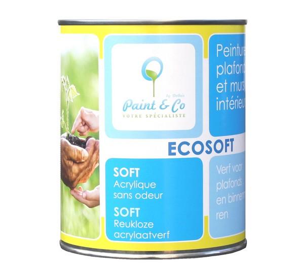 Farba ekologiczna do wnętrz soft Ecosoft