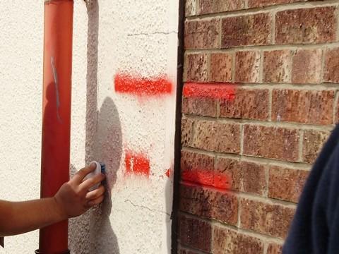 Farba przeciw plakatom i graffiti