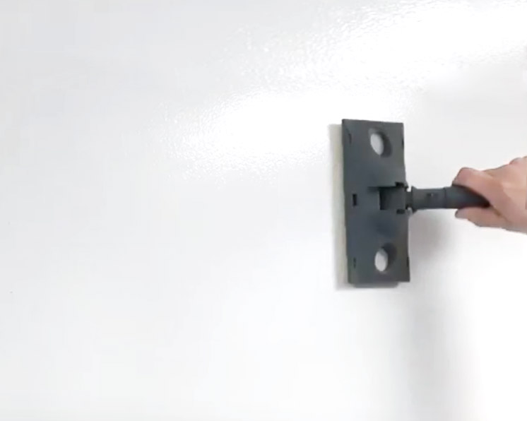Farba suchościeralna magnetyczna - krok 3 - farba suchościeralna P101