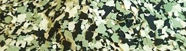 Płatki dekoracyjne kość słoniowa, zielony blady, czarny
