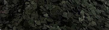 Płatki dekoracyjne czarne