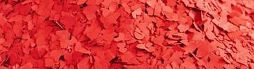 Płatki dekoracyjne czerwone