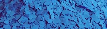 Płatki dekoracyjne niebieskie