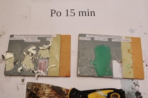 Preparat do usuwania farby poliuretanowej