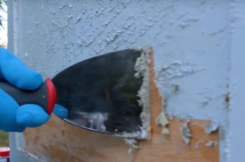 Środek do usuwania farby z drewna