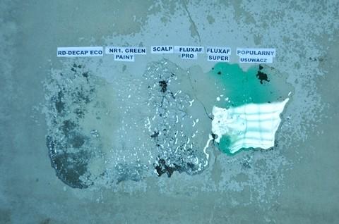Preparaty do usuwania farb poliuretanowych