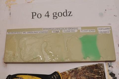 Preparaty do usuwania farb epoksydowych