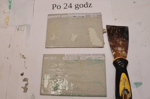 Środki do usuwania farb epoksydowych bezrozpuszczalnikowych