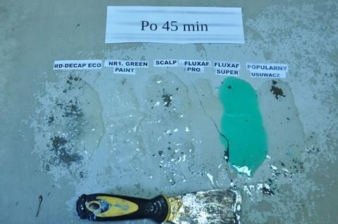 Środki do usuwania farb poliuretanowych
