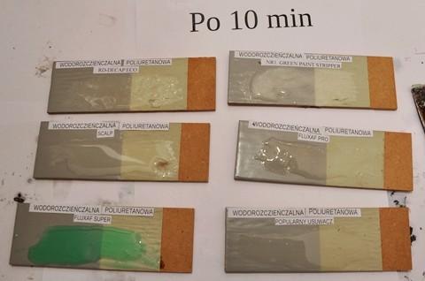 Środek do usuwania farby poliuretanowej wodorozcieńczalnej