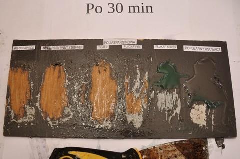Środki do usuwania żywicy poliasparginowej