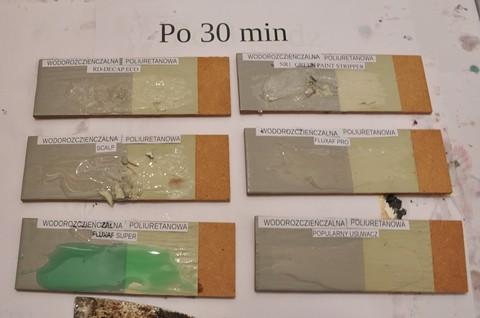 Usuwanie farb poliuretanowych