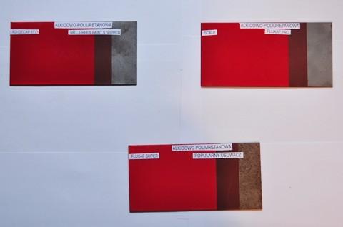Usuwanie farb alkidowo-poliuretanowych