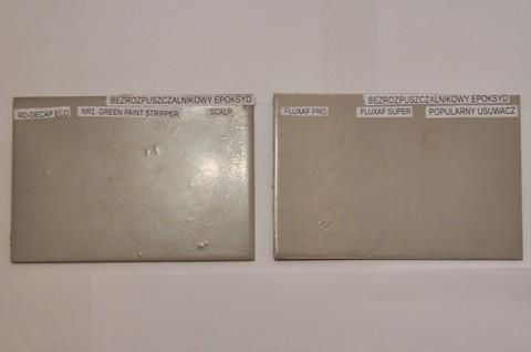 Usuwanie farb epoksydowych bezrozpuszczalnikowych