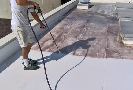 Malowanie dachów przemysłowych, skomplikowanych