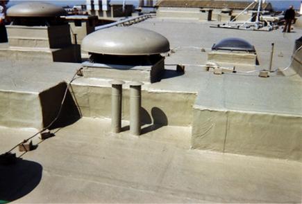 Malowanie dachów przemysłowych