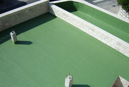 Uszczelnienie dachu malowanie