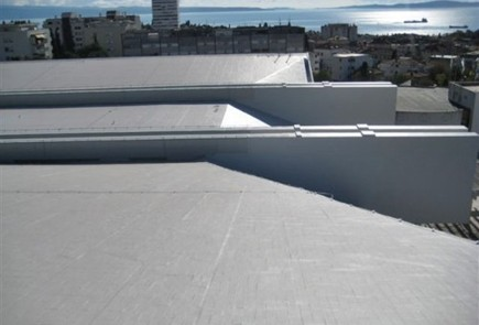 Membrana na dachy skomplikowane, przemysłowe