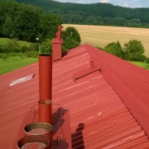 Farba na dach antykorozyjna